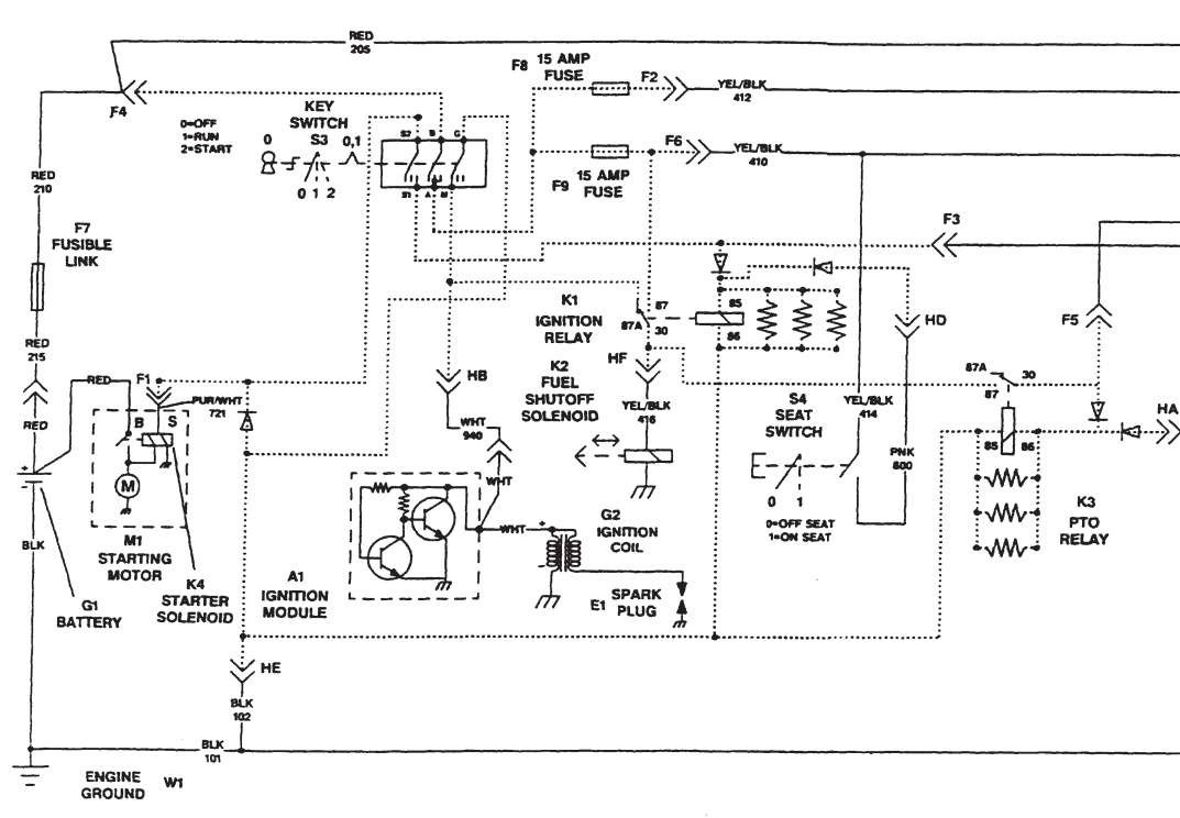 John Deere Lt133 Wiring Diagram | Manual E-Books - John Deere Lt133 Wiring Diagram