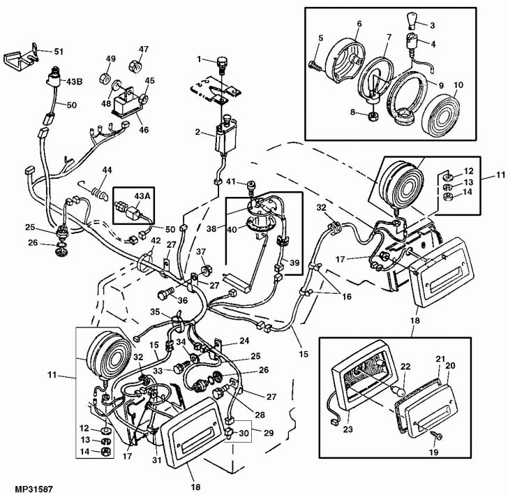 Wiring Diagram For A John Deere 111