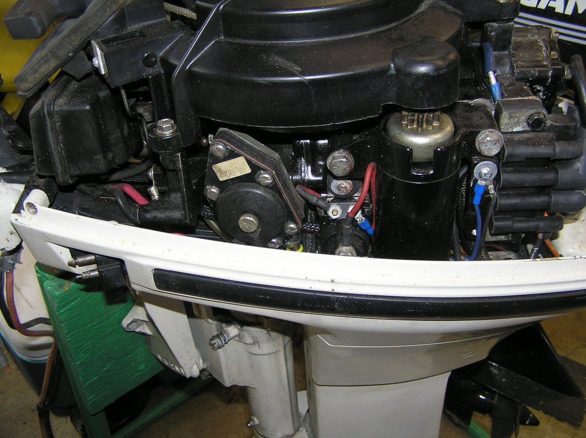 Johnson 15 Hp Starter Solenoid Page: 1 - Iboats Boating Forums | 641994 - Johnson Outboard Starter Solenoid Wiring Diagram