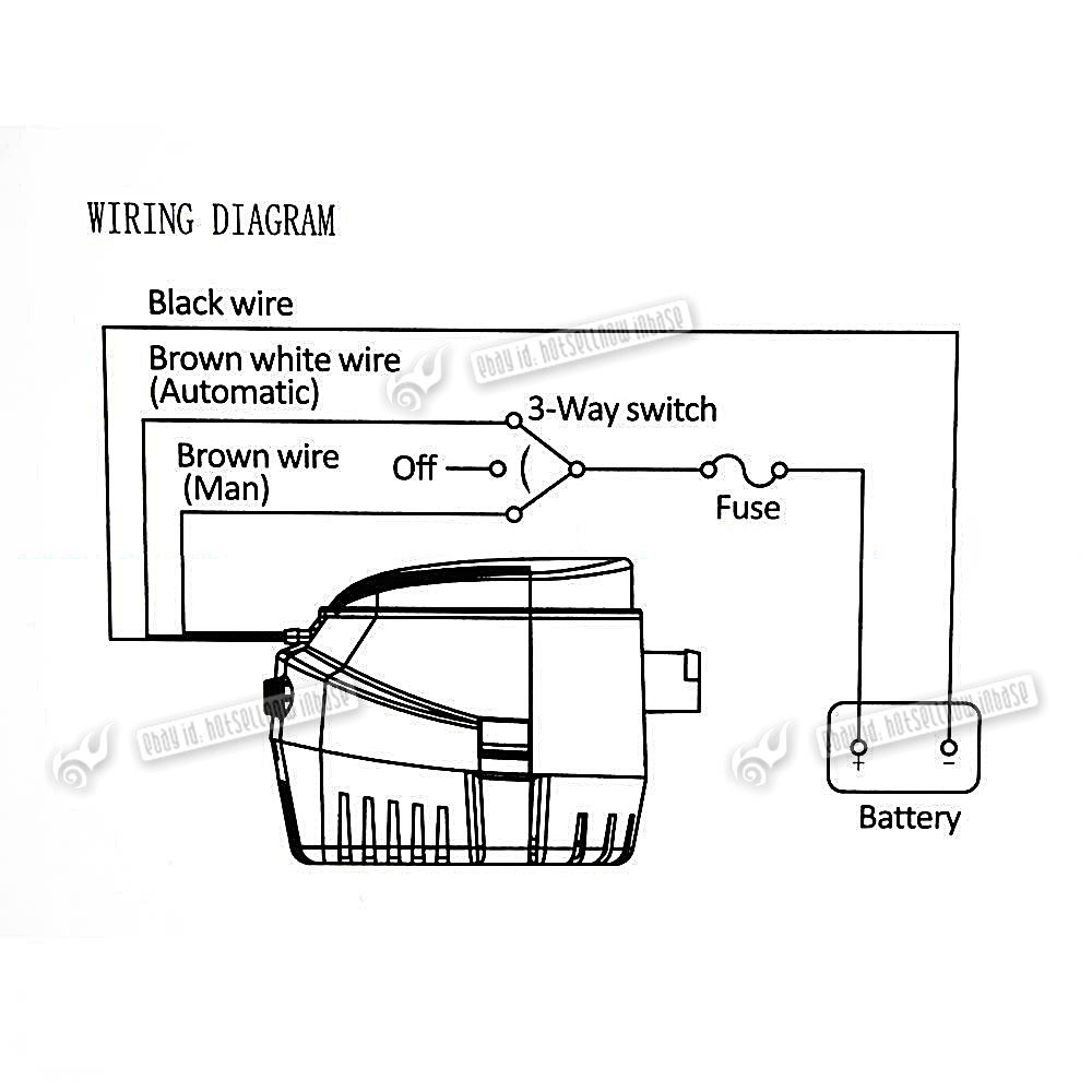Johnson Pump Wiring Diagram | Wiring Library - Rule Automatic Bilge Pump Wiring Diagram