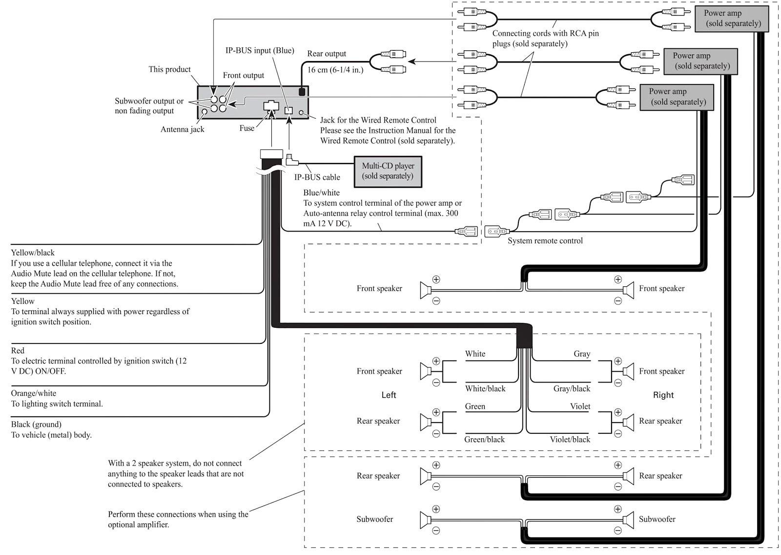 Kd R330 Jvc Car Stereo Wiring Diagram   Wiring Diagram - Jvc Kdr330 Wiring Diagram