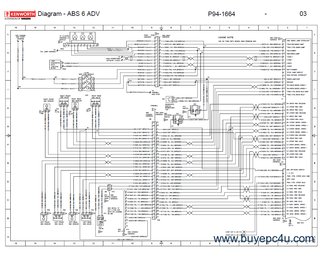 Kenworth Wiring Diagram Pdf | Wiring Diagram - Kenworth Wiring Diagram Pdf