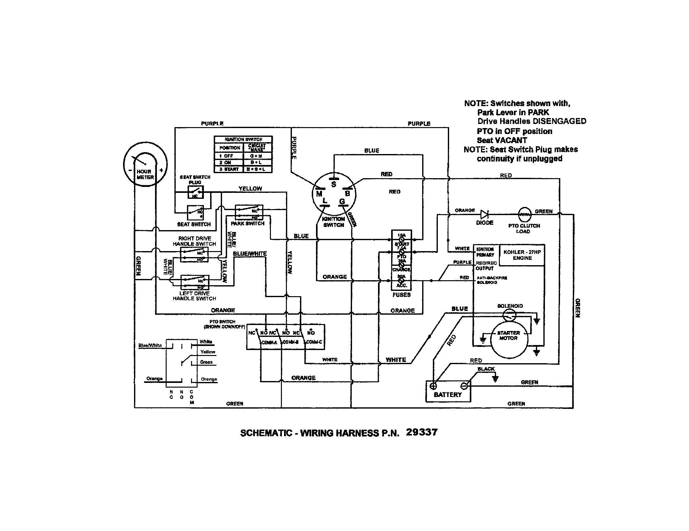 Kohler Ignition Switch Wiring Diagram New Wiring Diagram For Kohler - Kohler Ignition Switch Wiring Diagram