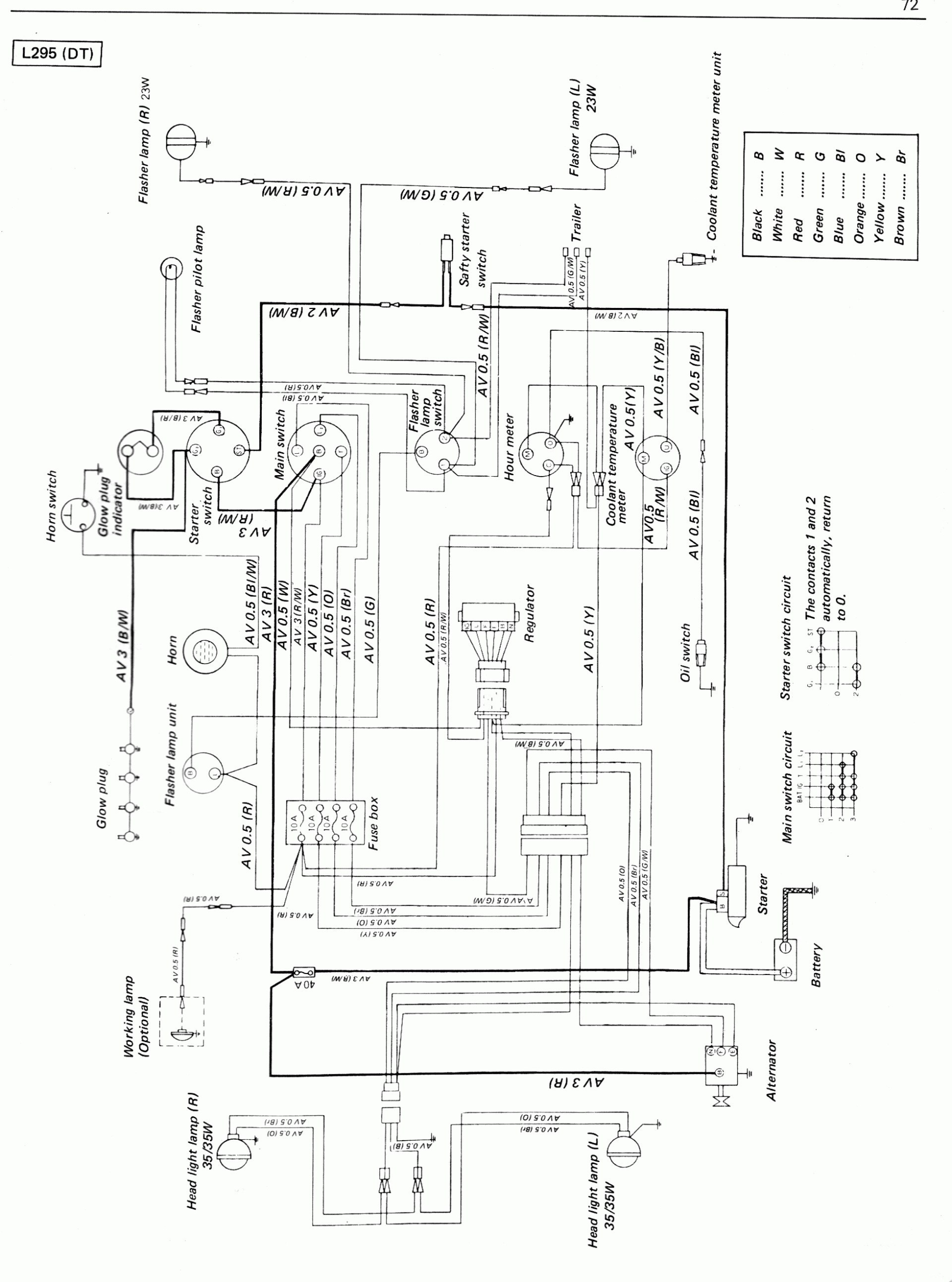 wiring diagram for kubota l3800 wiring diagram for led light for truck wire diagram for kubota 3030 | wiring diagram tutorial