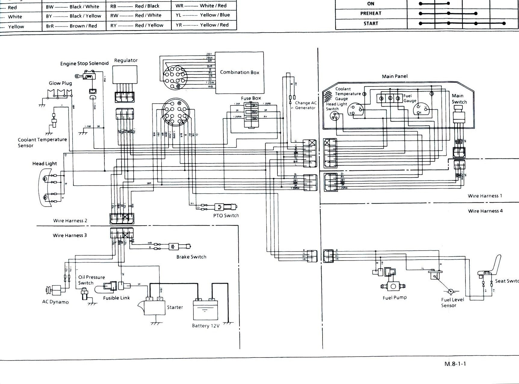Kubota Tractor Wiring Diagrams Wiring Diagram Name L2900 Kubota Tractor Wiring Diagrams