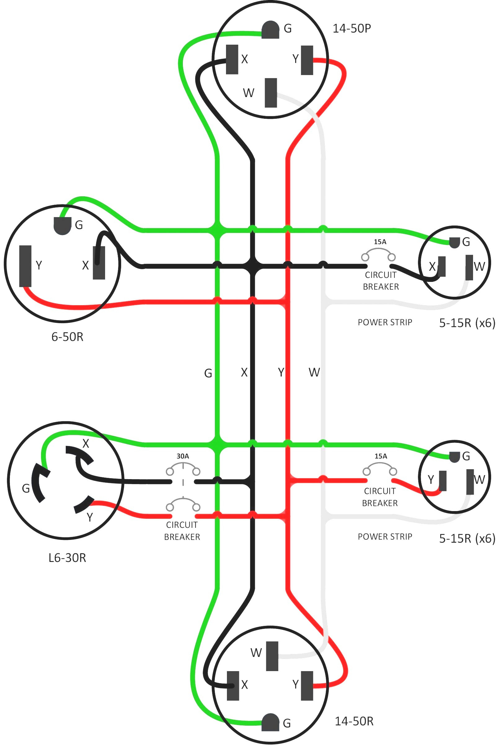 L6 20R Receptacle Wiring Diagram - Great Installation Of Wiring - Nema 6-20R Wiring Diagram