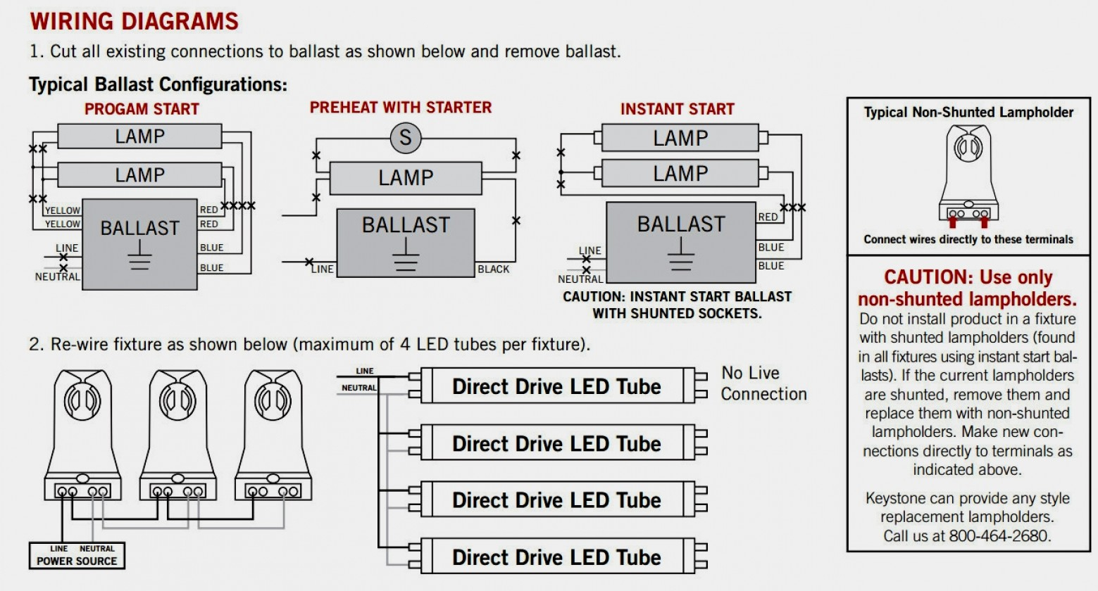Led Fluorescent Replacement Wiring Diagram | Wiring Diagram - Led Fluorescent Tube Replacement Wiring Diagram