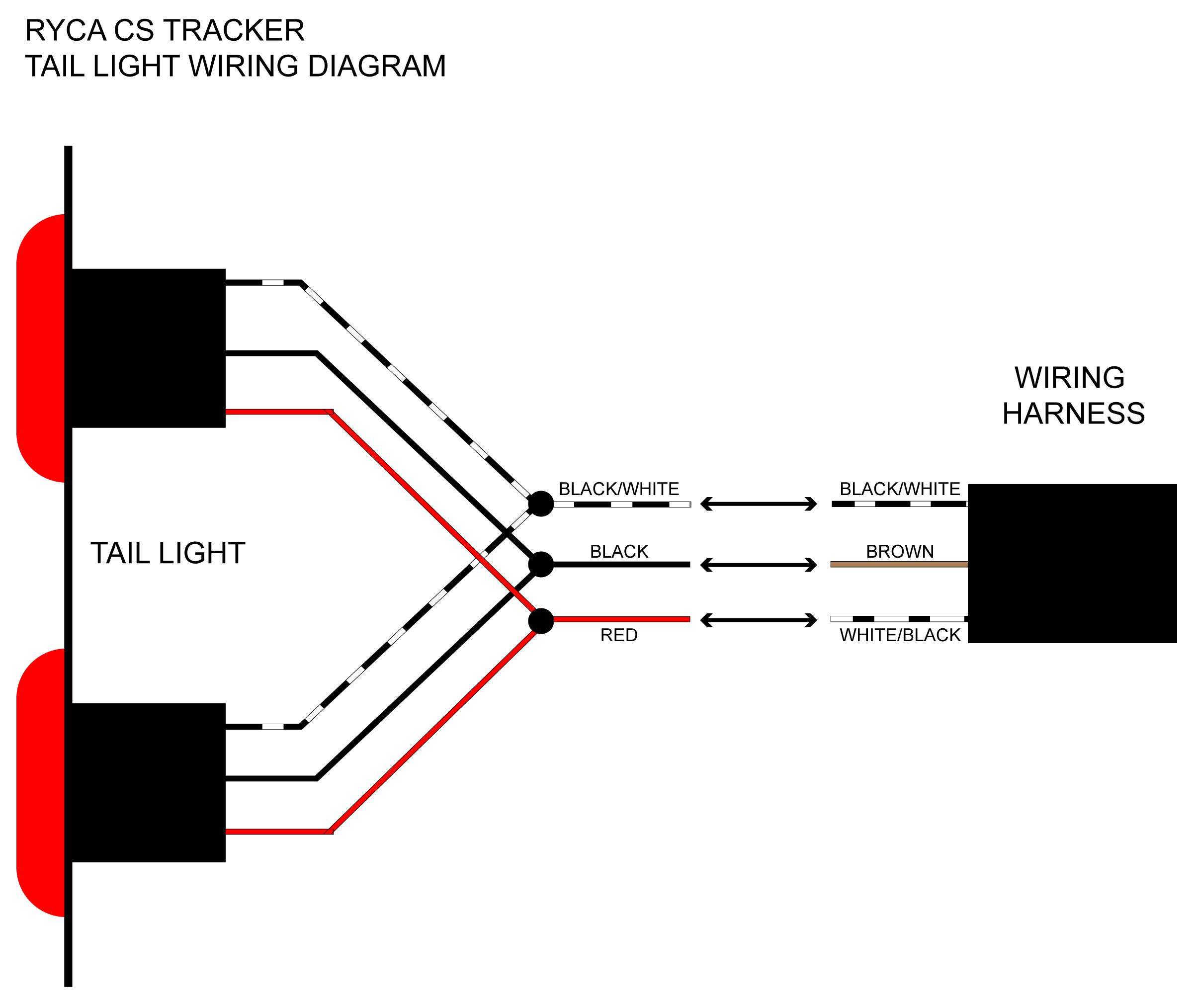 Led Tail Light Wiring Diagram - Wiring Diagrams Thumbs - Tail Light Wiring Diagram
