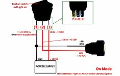 Led Toggle Switch Wiring Diagram   All Wiring Diagram Data   3 Prong Toggle Switch Wiring Diagram