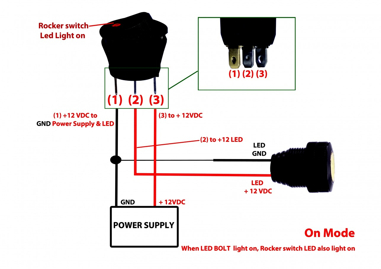 Led Toggle Switch Wiring Diagram - All Wiring Diagram Data - 3 Prong Toggle Switch Wiring Diagram