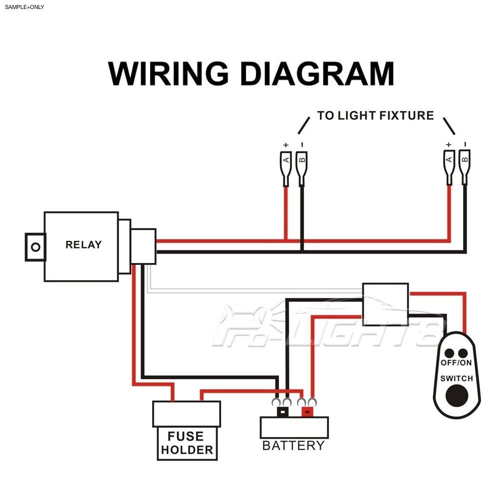 Led Wire Schematic - Schema Wiring Diagram - Light Bar Wiring Diagram