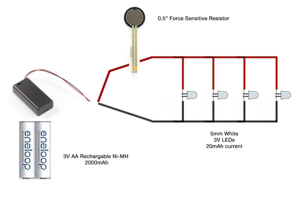 Led Wiring Diagram - Wiring Diagrams Hubs - Led Light Wiring Diagram