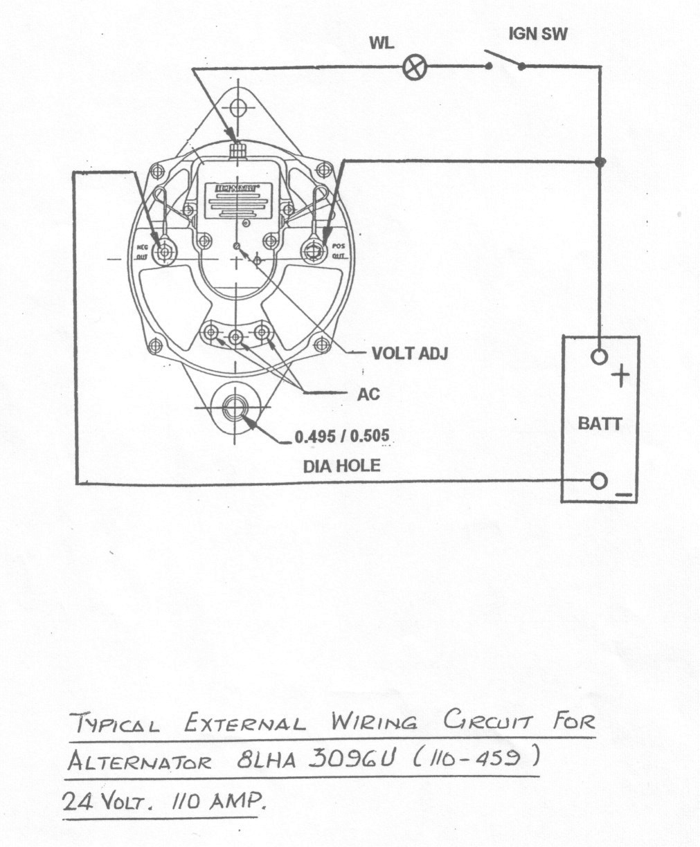 Leece Neville Alternator Wiring Diagram Free Download | Manual E-Books - Leece Neville Alternator Wiring Diagram