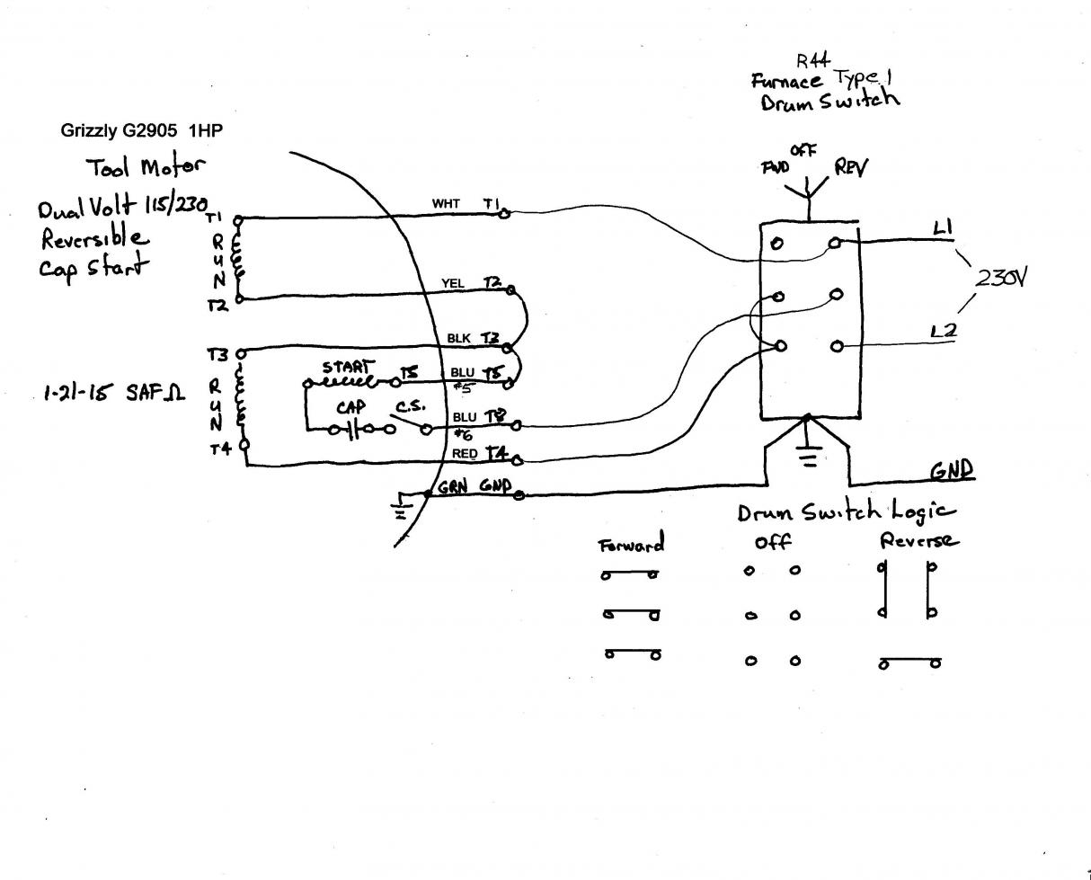 Leeson Motor Drum Switch Wiring Diagram For A | Wiring Diagram - Ac Motor Reversing Switch Wiring Diagram