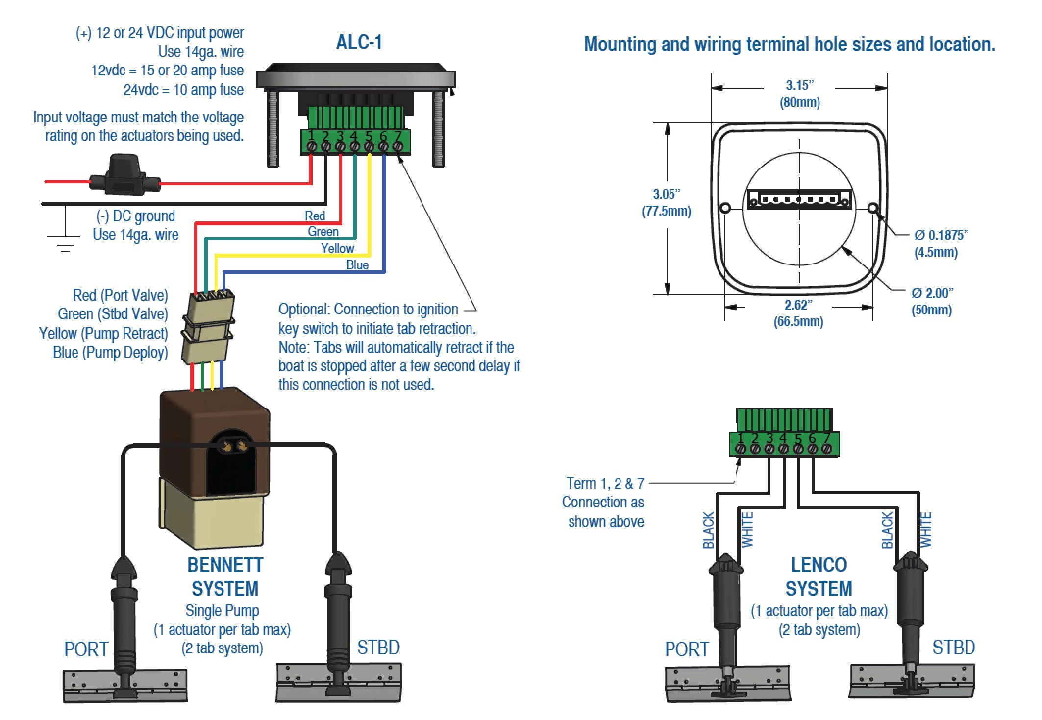 Lenco Trim Tab Wiring Diagram | Wiring Diagram - Bennett Trim Tab Wiring Diagram