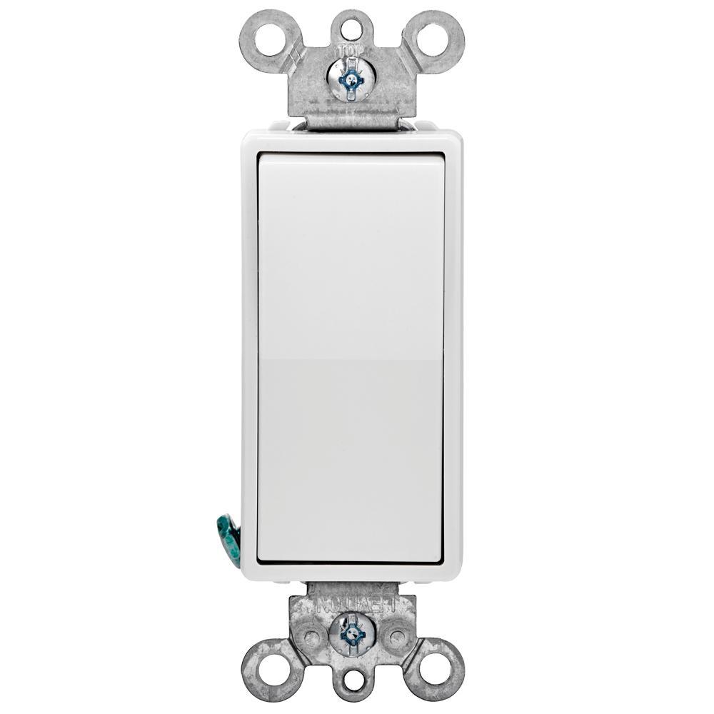 Leviton Decora 15 Amp 4-Way Switch - White-R58-05604-2Ws - The Home - Leviton 4 Way Switch Wiring Diagram