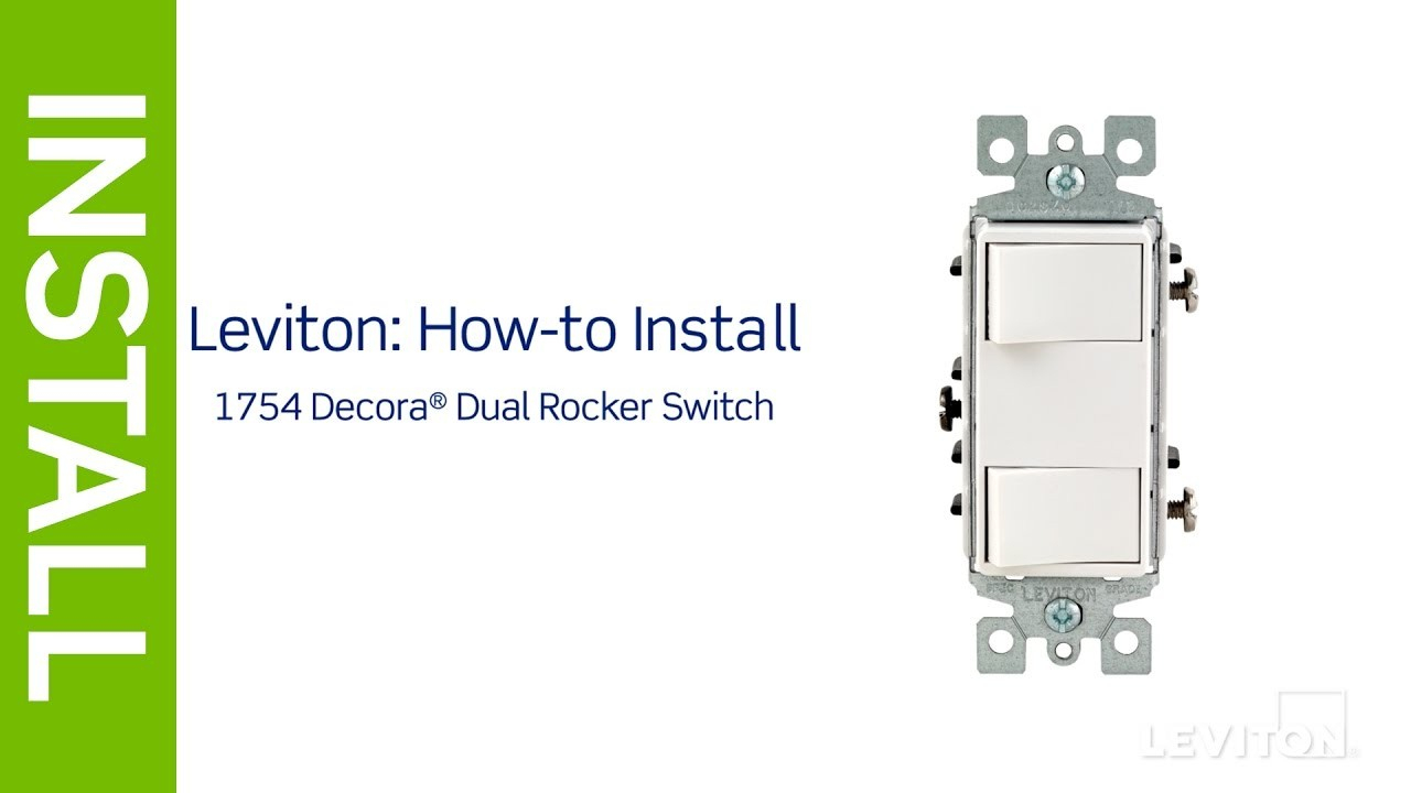 Leviton Double Pole Switch Wiring Diagram Light Combination Within - Double Pole Switch Wiring Diagram