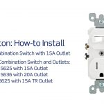 Leviton Presents: How To Install A Combination Device With A Single   Leviton Combination Switch And Tamper Resistant Outlet Wiring Diagram