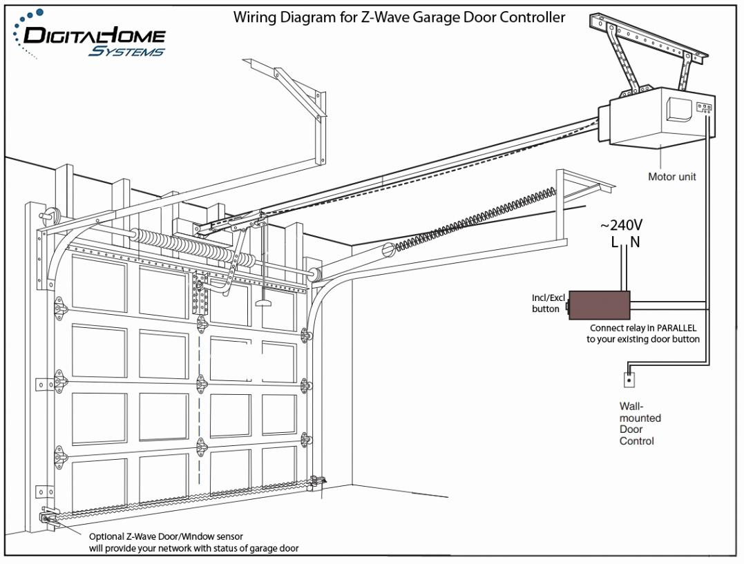 Liftmaster Professional 1 2 Hp Garage Door Opener Luxury Liftmaster - Liftmaster Wiring Diagram