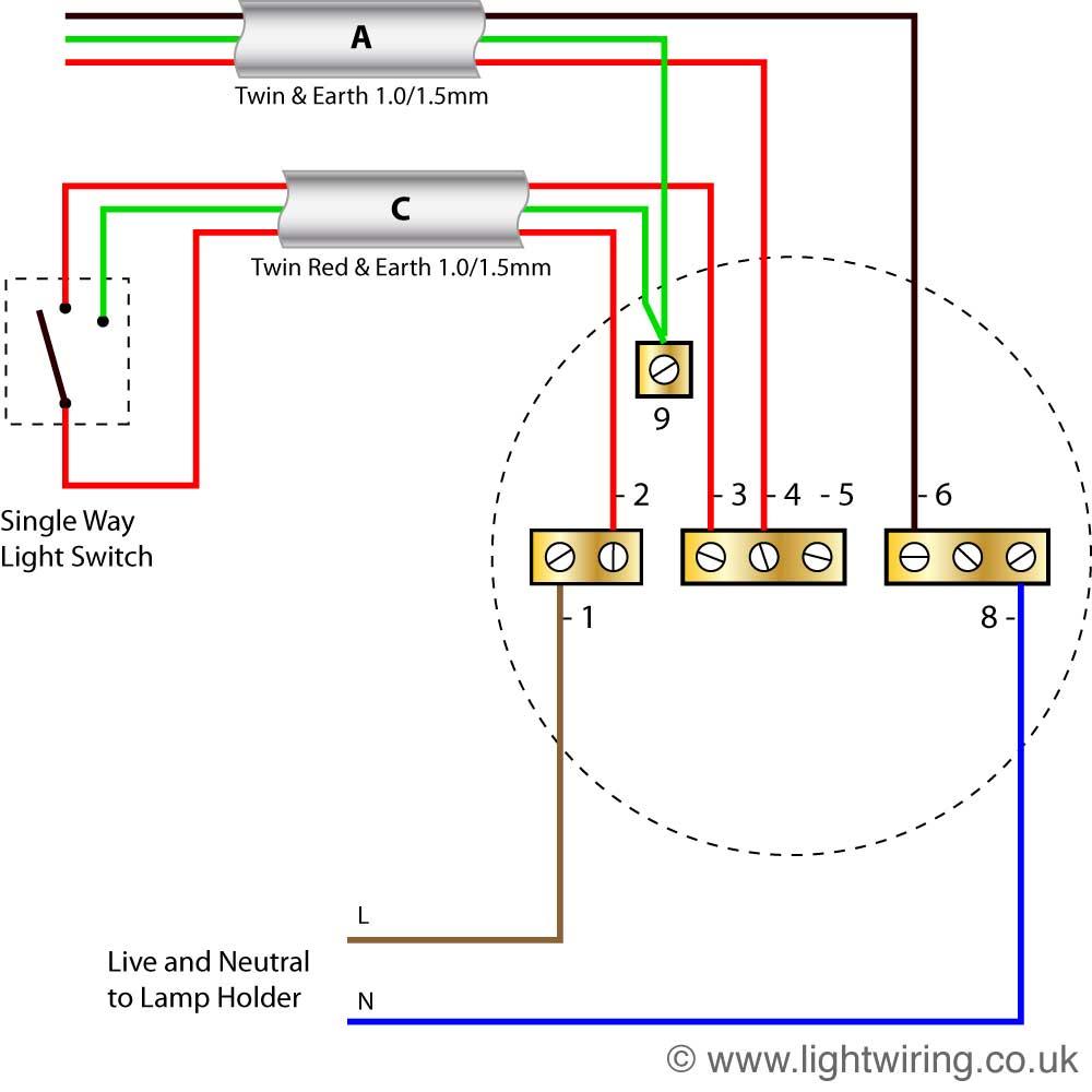 Lighting Wiring Diagram | Light Wiring - 3 Way Light Switch Wiring Diagram