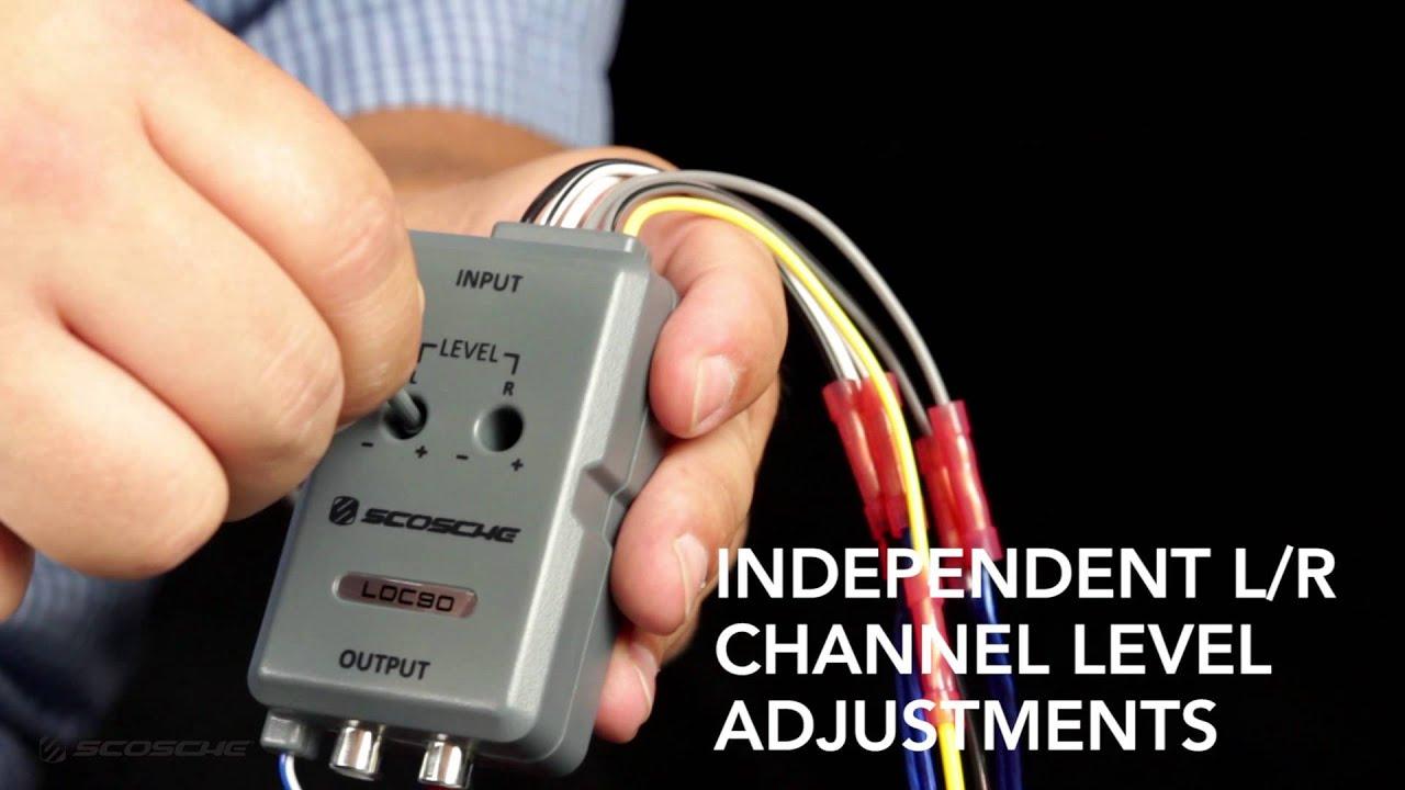 Loc90 - Line Output Converter - Scosche - Youtube - Scosche Loc2Sl Wiring Diagram