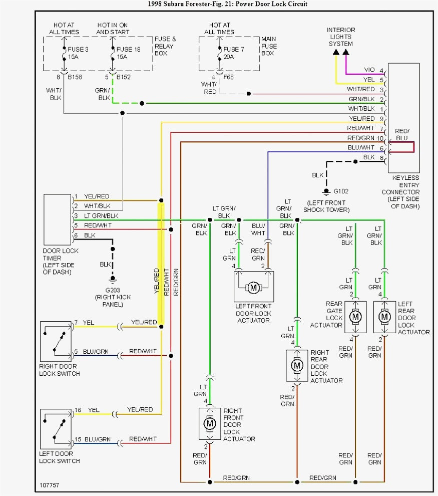 Lock Actuator Wiring Diagram | Wiring Library - Power Door Lock Wiring Diagram