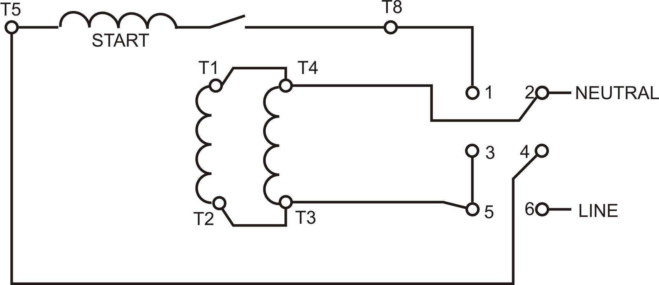 Low Voltage 6 Lead Motor Wiring Diagram   Wiring Diagram - 6 Lead Single Phase Motor Wiring Diagram