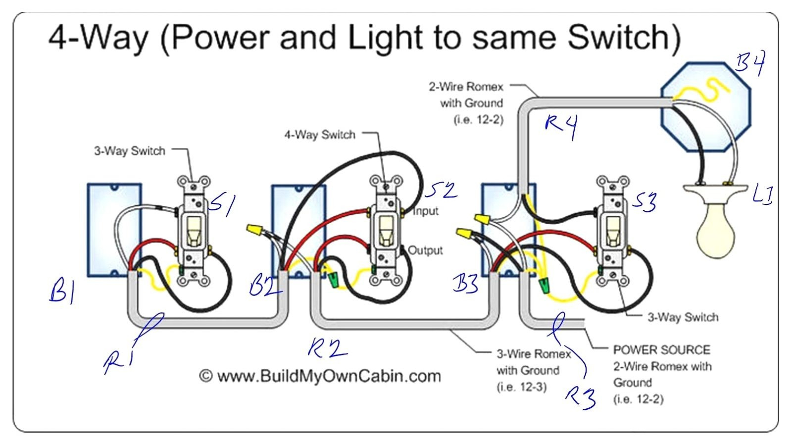 Lutron Caseta Wiring Diagrams | Wiring Diagram - Lutron 3 Way Dimmer Switch Wiring Diagram