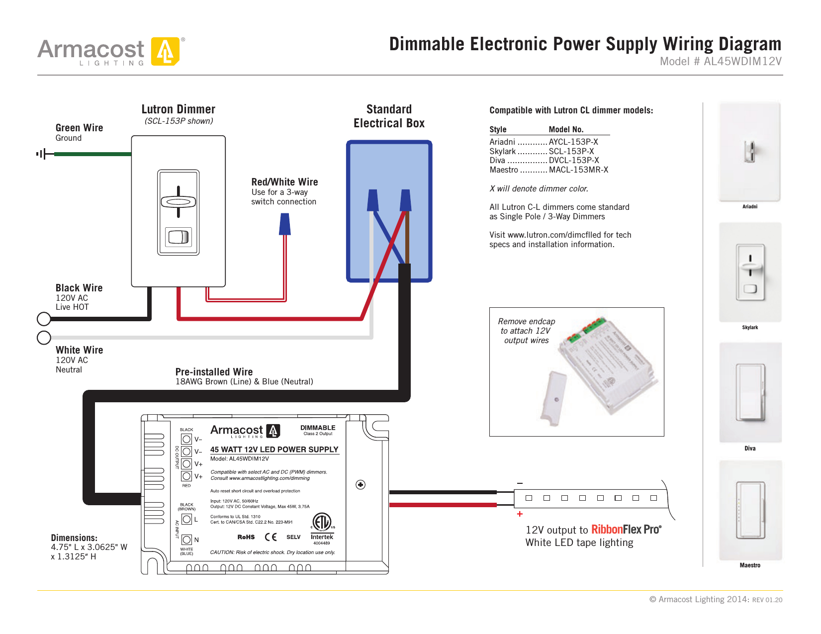 Lutron Multi Location Dimmer Wiring Diagram | Wiring Library - Lutron Maestro Wiring Diagram
