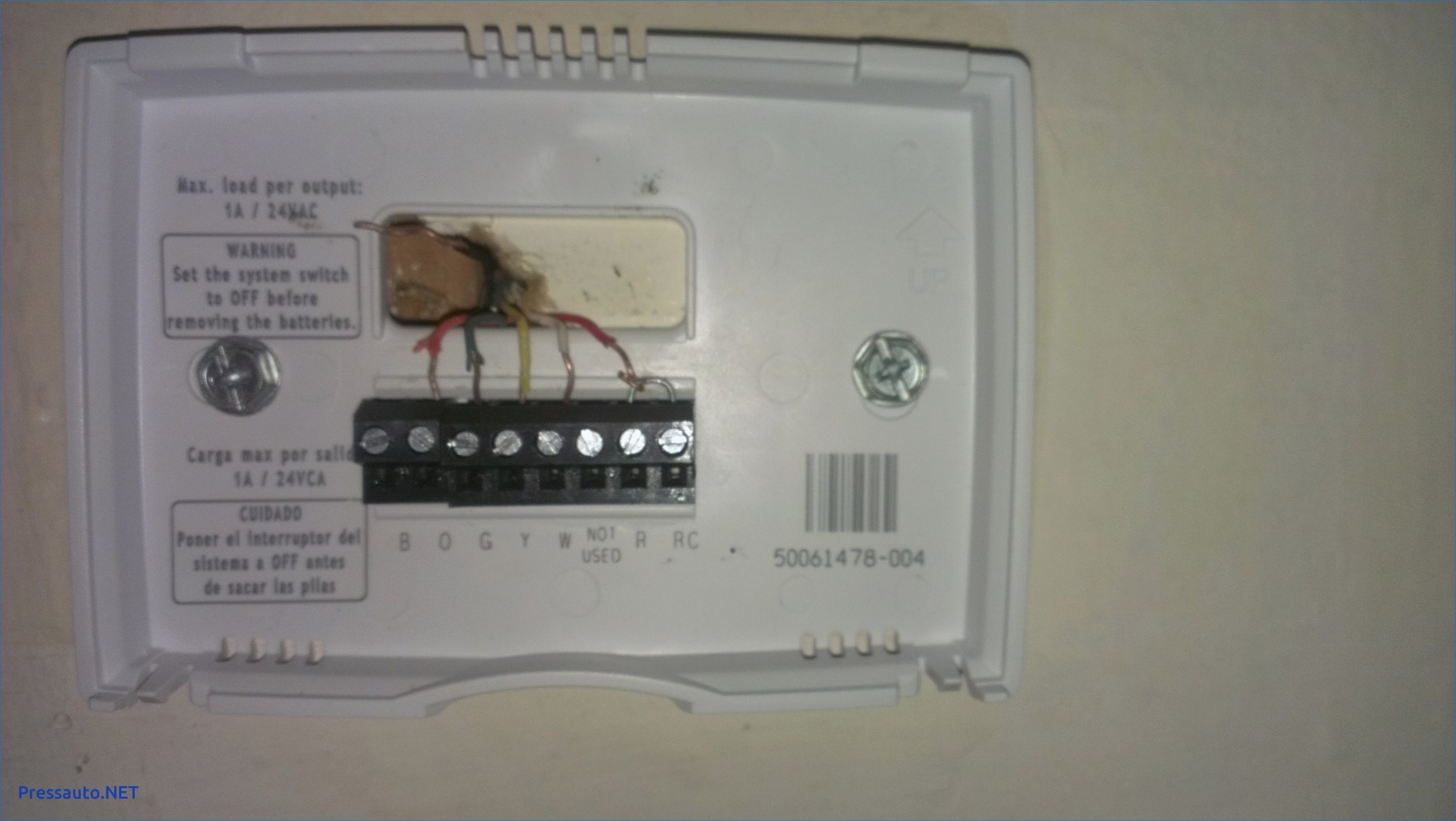 Luxpro Thermostat Wiring Diagram - Wiring Diagrams Img - Honeywell Wifi Thermostat Wiring Diagram