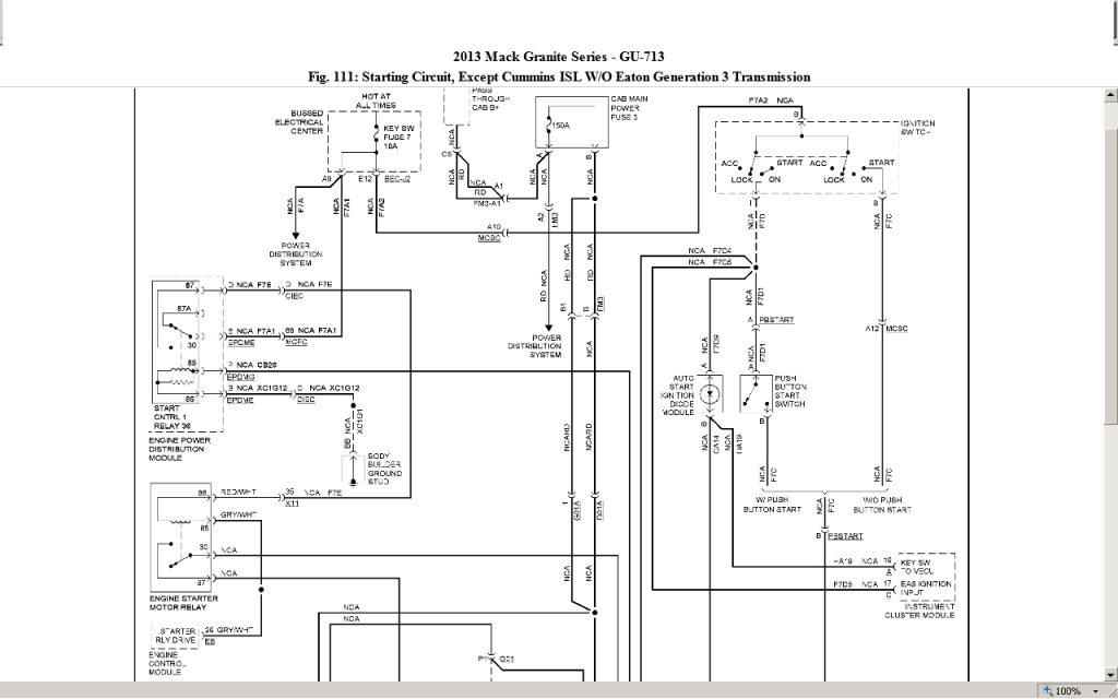 Mack Wiring Schematics - Data Wiring Diagrams