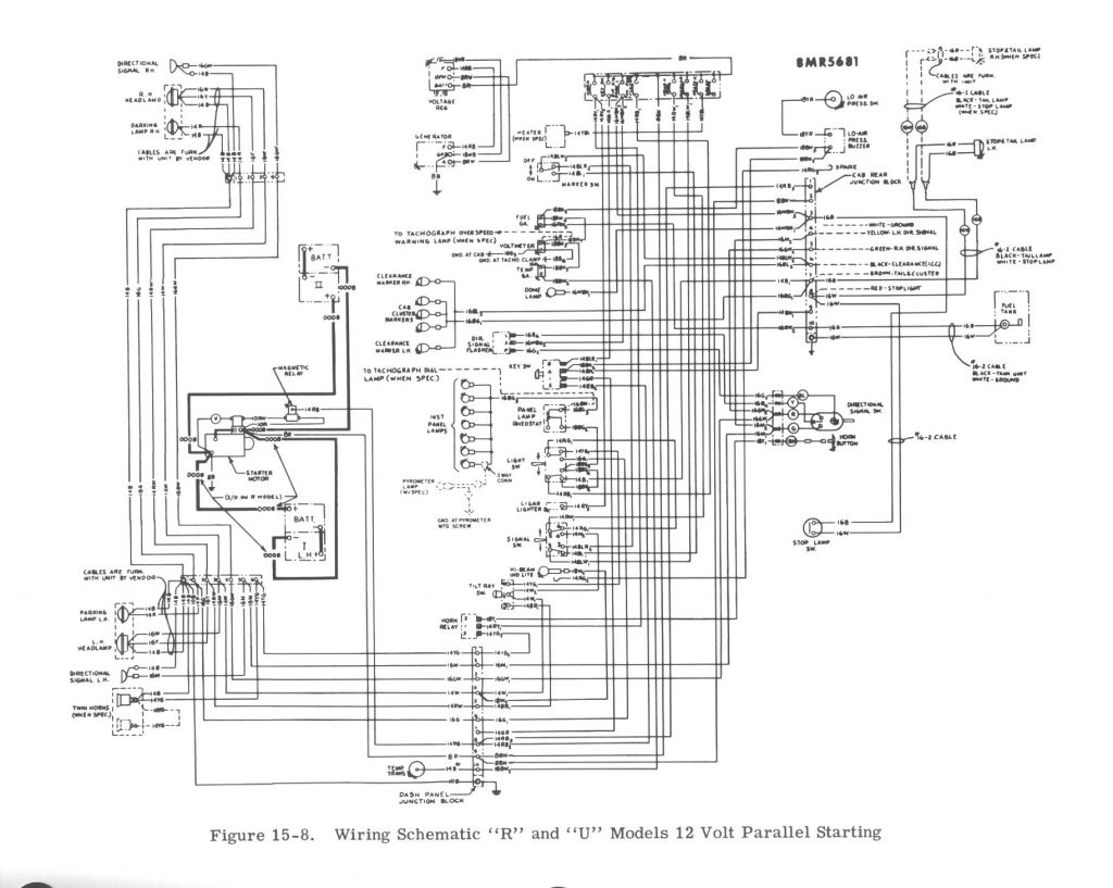 Mack R Amp B Trucks Start Wiring | Wiring Diagram