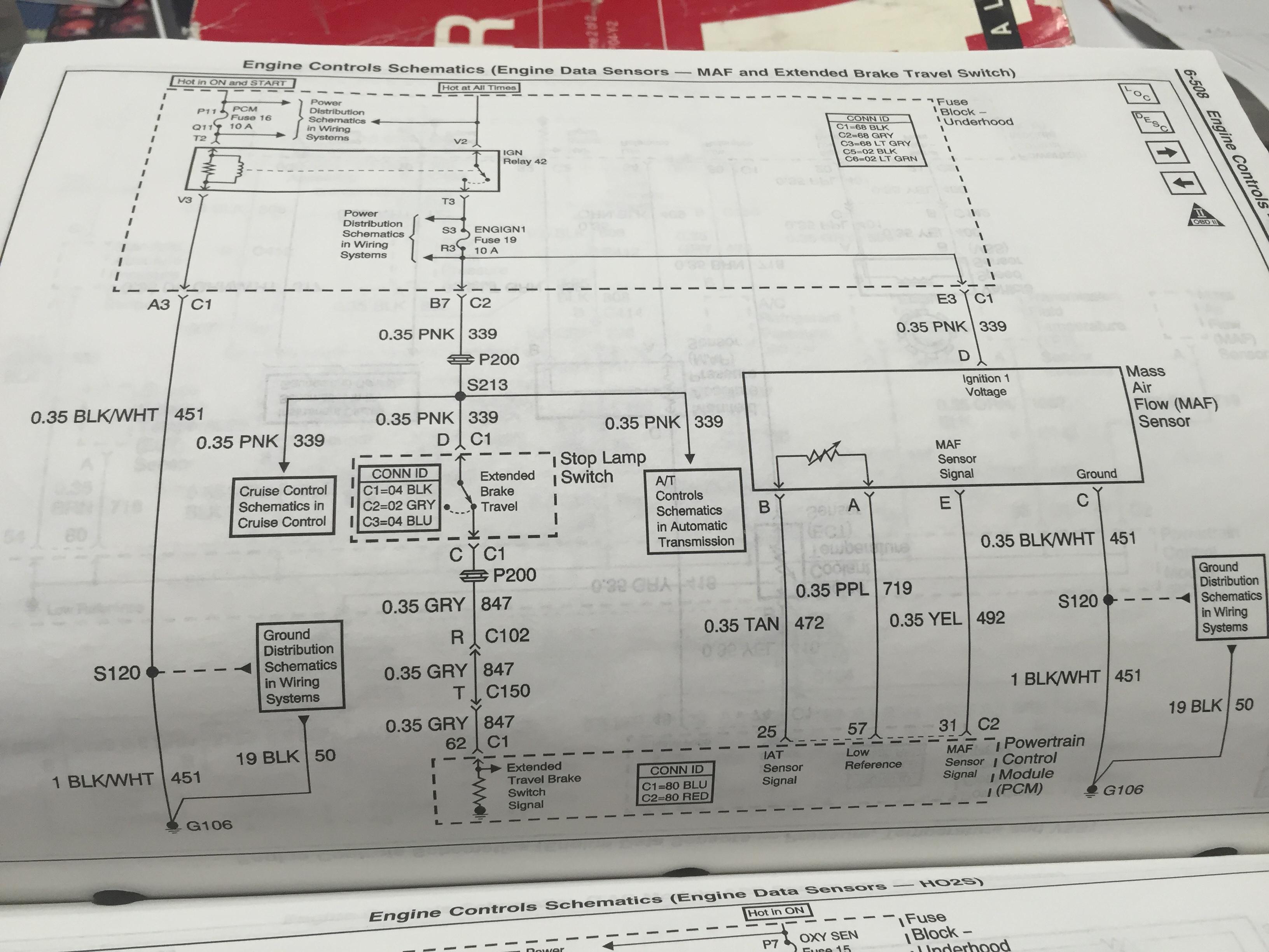 Maf: 5 Pin Ls6 Wiring To 5 Pin Ls7 Mass Air Flow Sensor - Maf Wiring Diagram