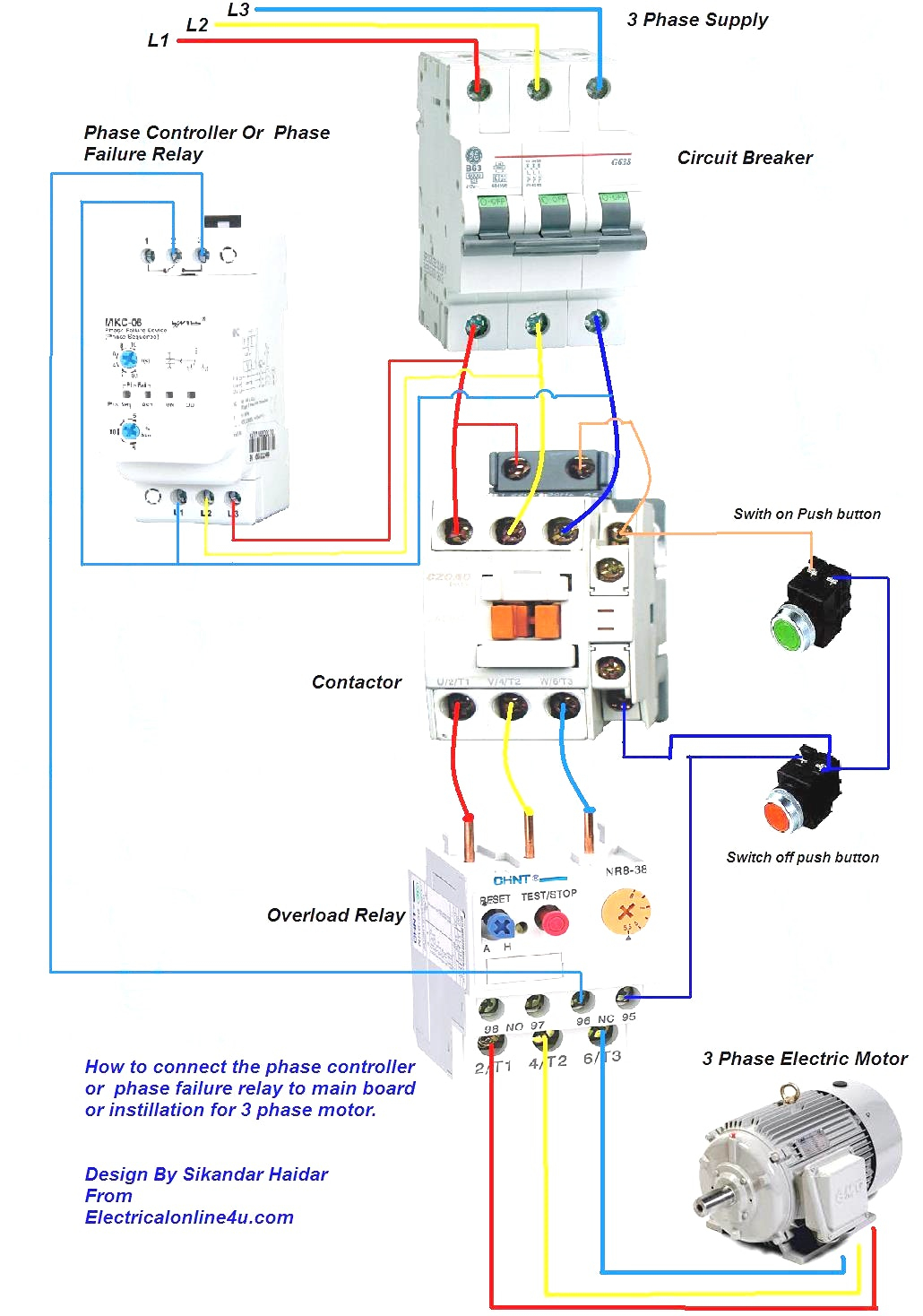 Magnetic Contactor Wiring Diagram Stylesync Me And Of In Magnetic - Magnetic Starter Wiring Diagram