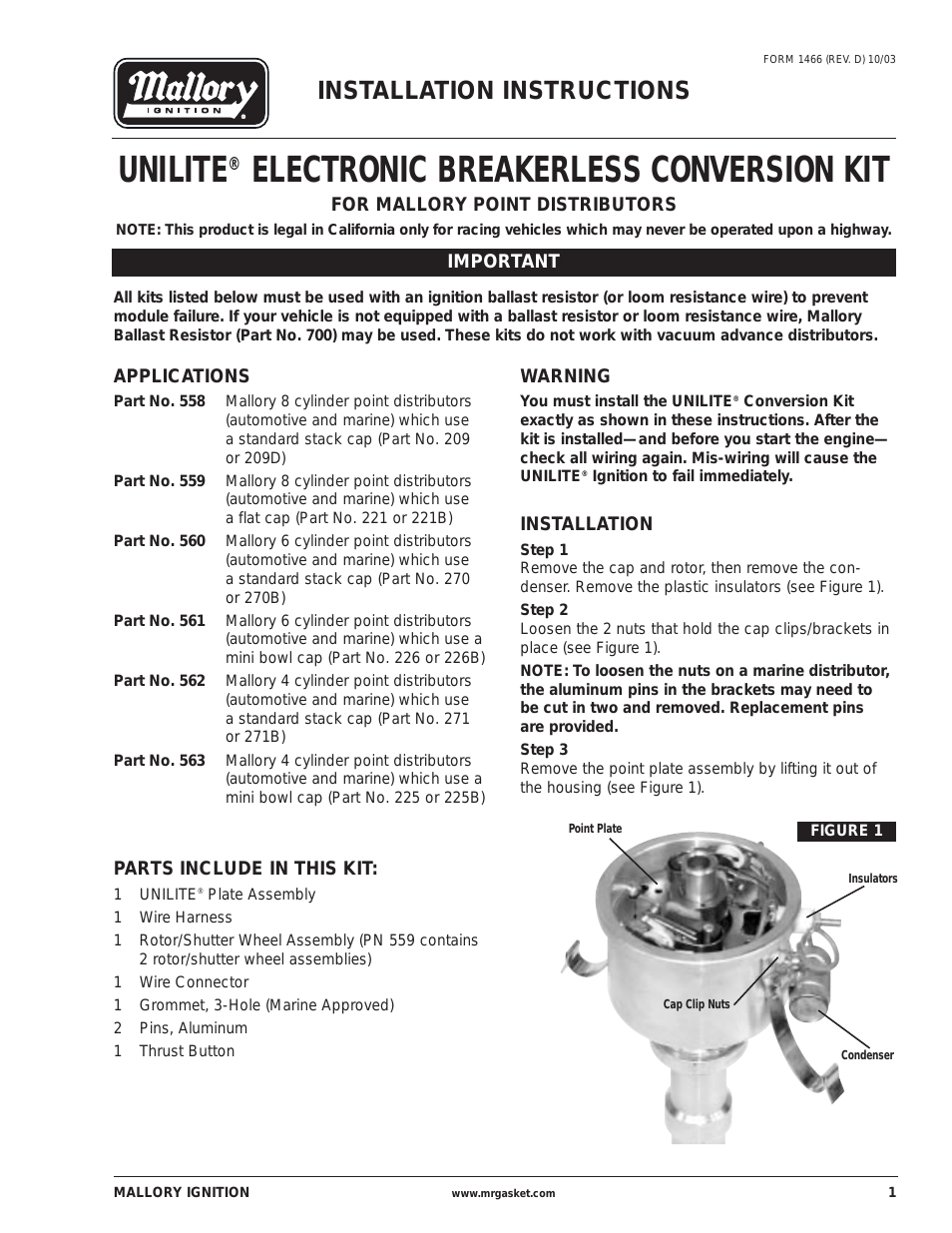 Mallory Magnetic Breakerless Wiring Diagram | Wiring Diagram - Mallory Magnetic Breakerless Distributor Wiring Diagram