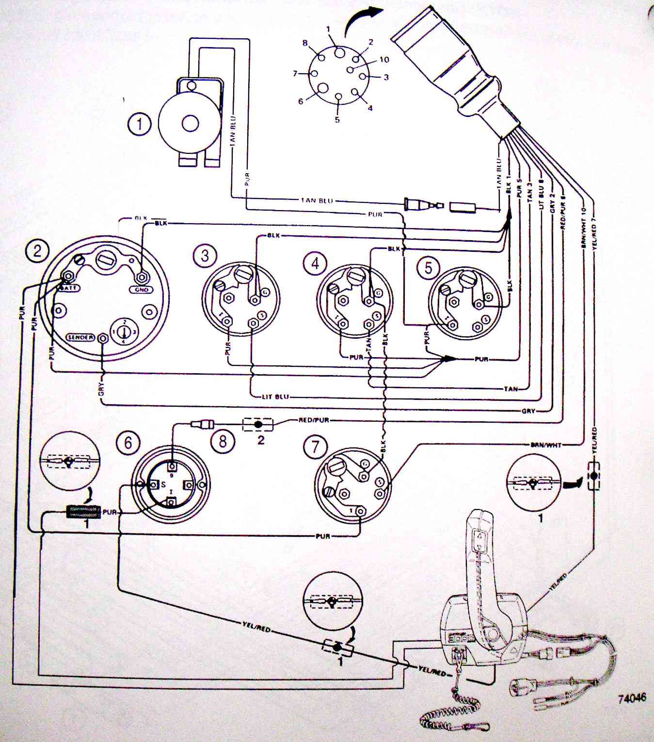 Incredible 10 Pin Mercruiser Wiring Harness Better Wiring Diagram Online Wiring 101 Capemaxxcnl