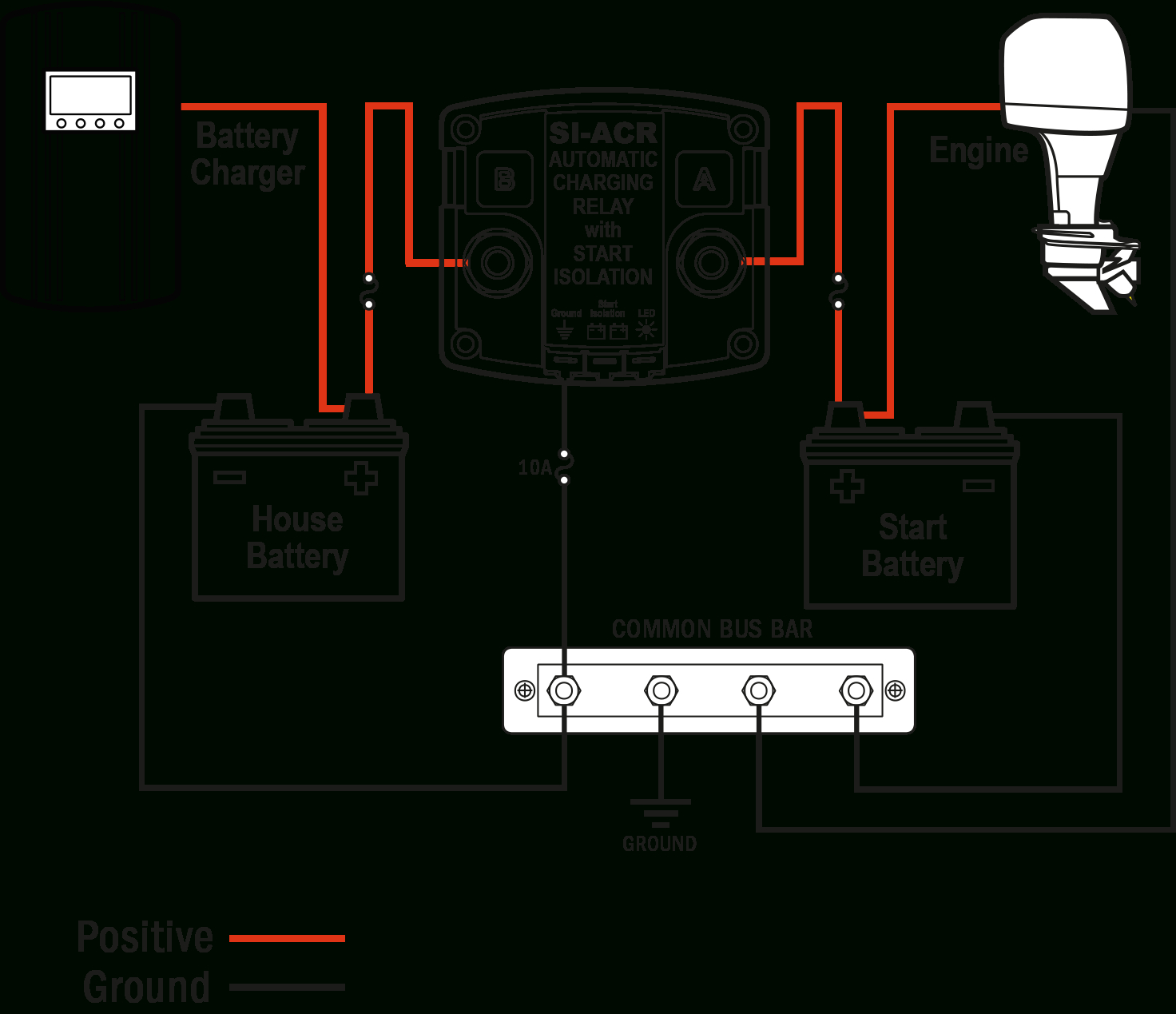 Marine Battery Isolator Wiring Diagram | Wiring Diagram - Dual Battery Isolator Wiring Diagram