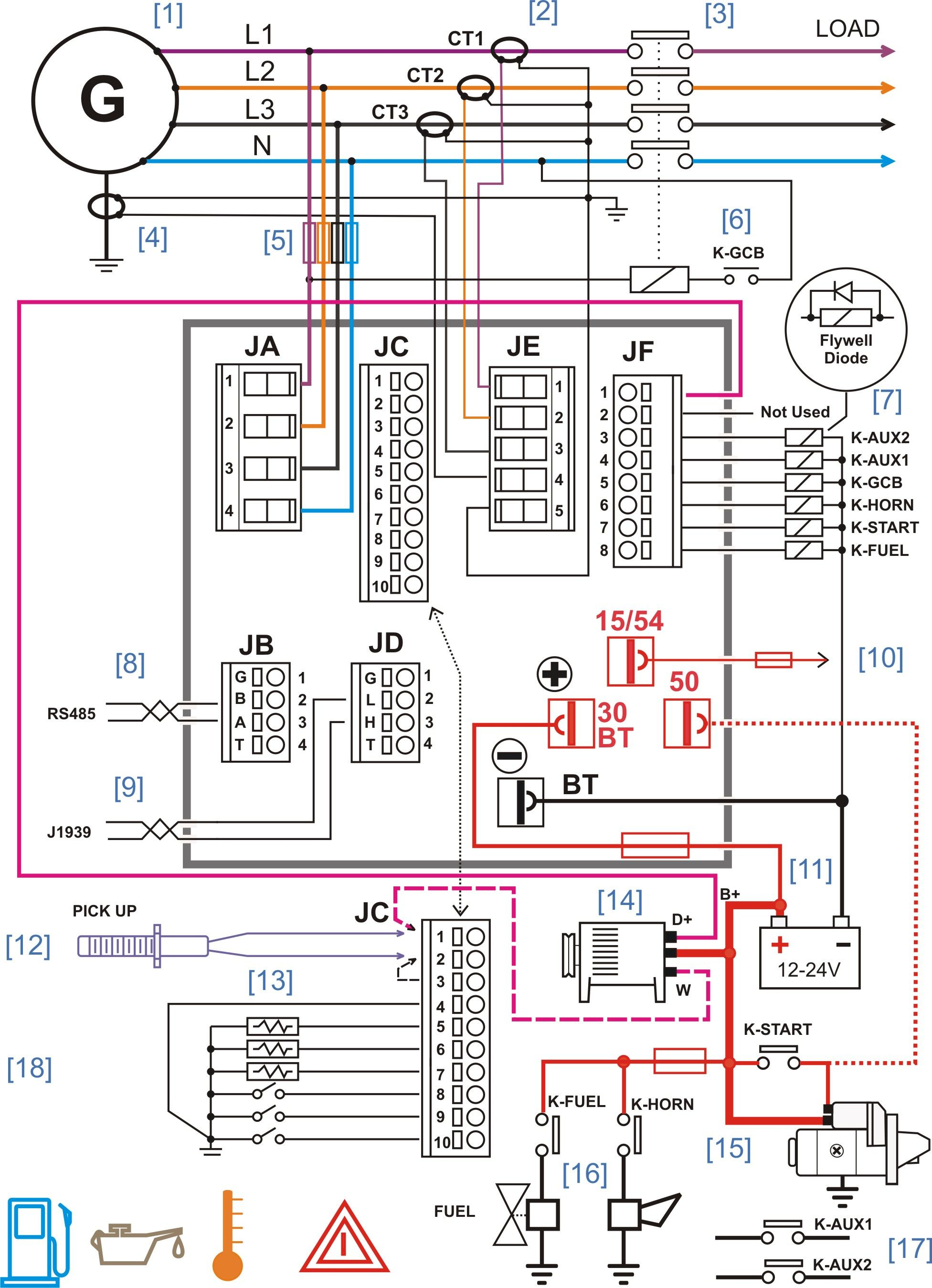 Marine Electrical Control Panel Wiring Diagram | Manual E-Books - Electrical Panel Wiring Diagram