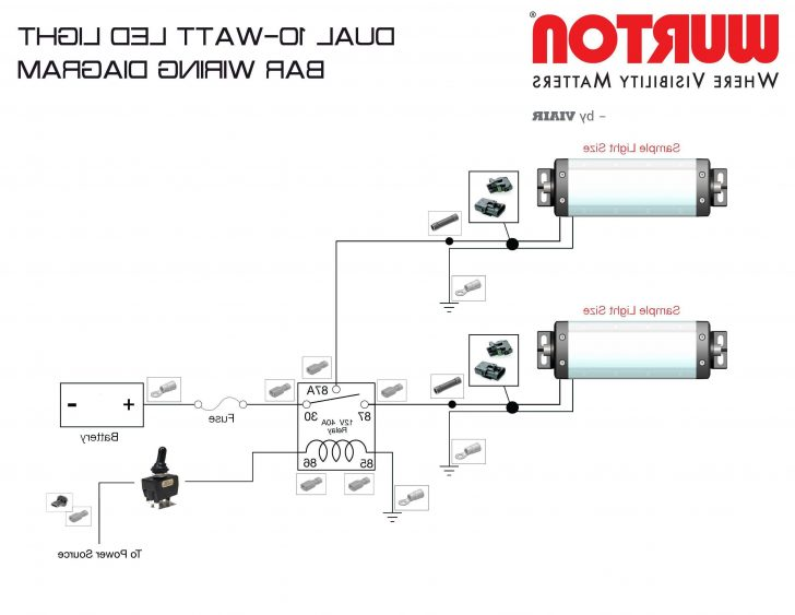 3 Wire Led Tail Light Wiring Diagram