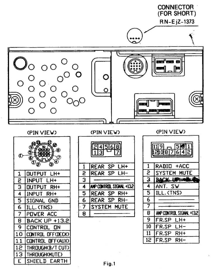 Sony Car Stereo Wiring Diagram