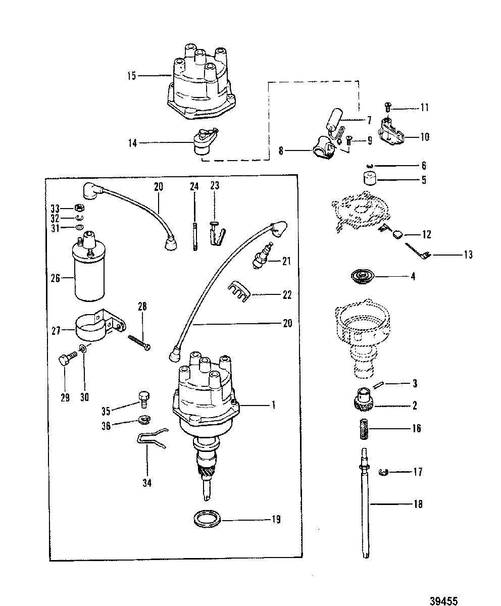 Mercruiser : 165 Hp - 3.7L/170 Hp/180 Hp-3.7 L/lx/190 Hp - Mercruiser Wiring Diagram