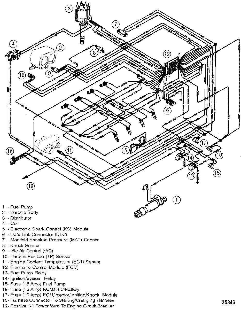 Mercruiser 350 Wiring Diagram - Great Installation Of Wiring Diagram • - Mercruiser 5.7 Wiring Diagram