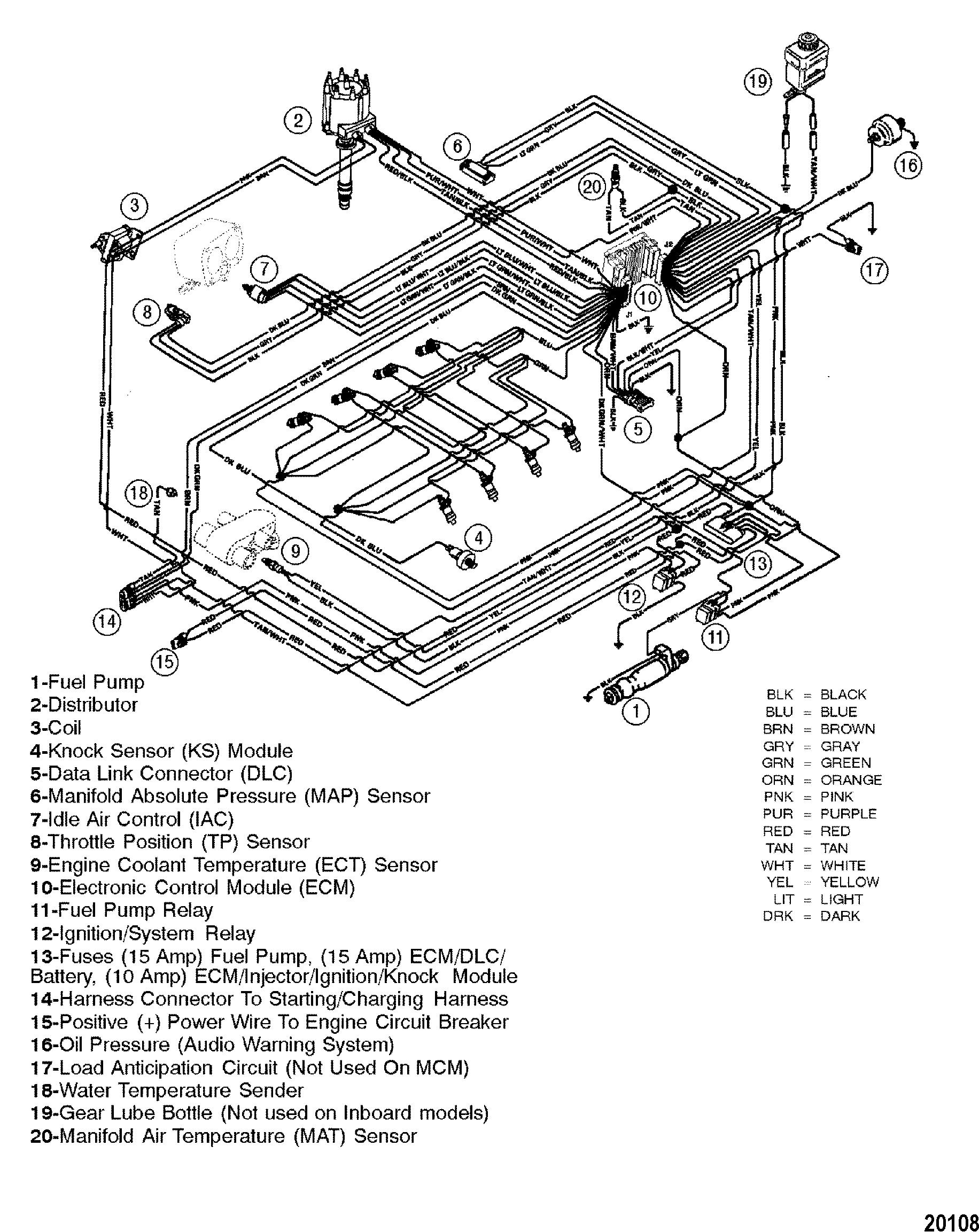 Mercruiser Wiring Diagram 5 7 - Great Installation Of Wiring Diagram • - Mercruiser 5.7 Wiring Diagram