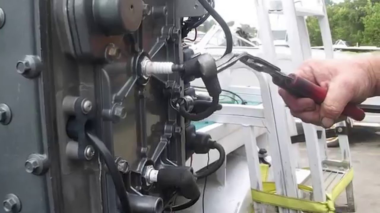Mercury 90 Hp 3 Cylinder Engine Now Running On All Three Cylinders - Wiring Diagram For Mercury Outboard Motor