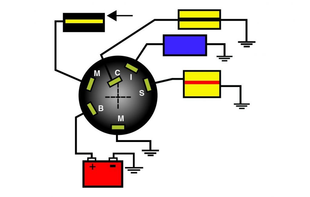 Stupendous Boat Ignition Switch Wiring Diagram Wirings Diagram Wiring Cloud Usnesfoxcilixyz