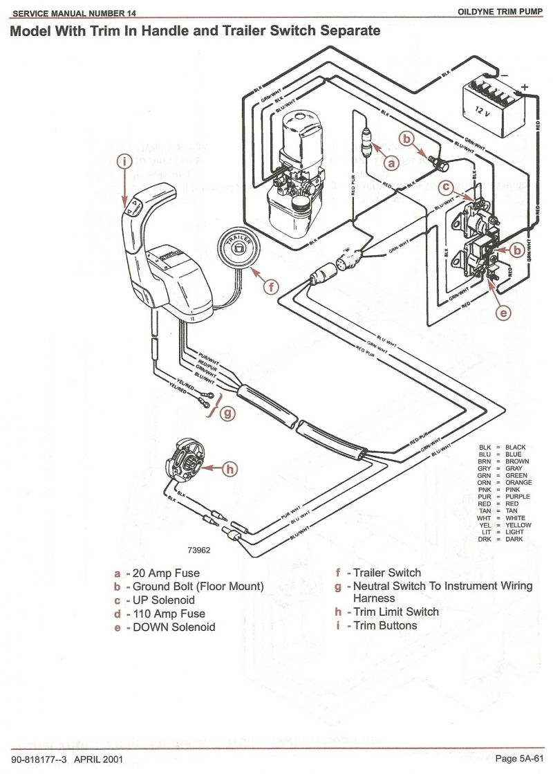 Mercury Trim Pump Wiring Diagram | Wiring Library - Mercruiser 4.3 Wiring Diagram
