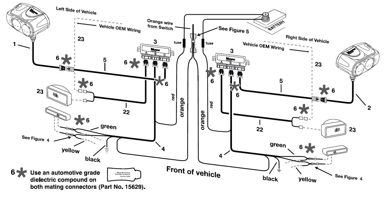 Meyer Light Wiring Diagram - Data Wiring Diagram Detailed - Meyers Snow Plow Wiring Diagram