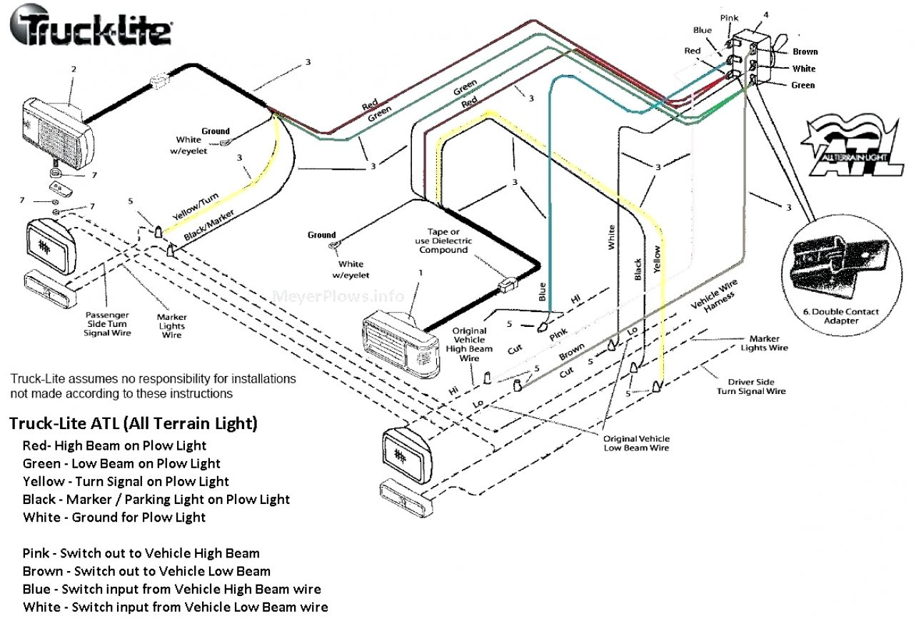 Meyer Light Wiring Diagram - Data Wiring Diagram Detailed - Wiring Lights Diagram