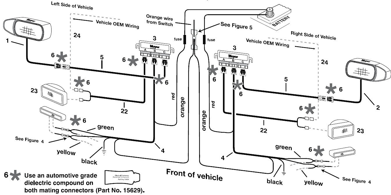 Meyer Snow Plow Light Wiring Diagram   Wiring Diagram - Meyers Snowplow Wiring Diagram