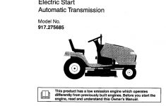 Model Wiring Craftsman Diagram Tractor 917272674   All Wiring   Craftsman Model 917 Wiring Diagram